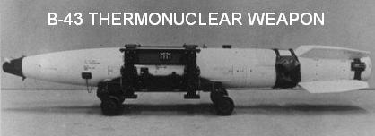 B-43 Hydrogen Bomb