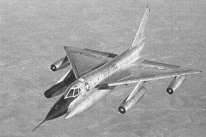 B-58 Hustler Supersonic (Mach 2) Bomber