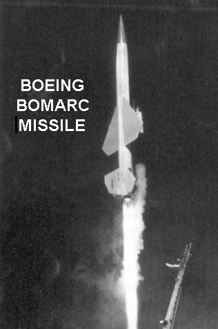 Boeing BOMARC surface-to-air (SAM) missile