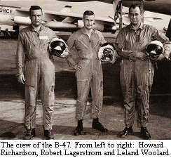 Colonel Howard Richardson and the crew of the B-47