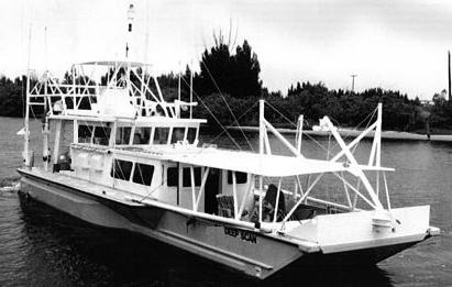Deep Scan Research Vessel, converted NATO Landing Craft built in 1983