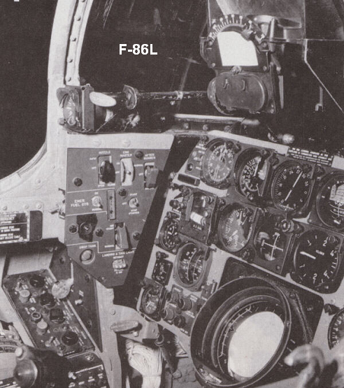 F-86L Instrument Panel and Cockpit