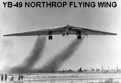 YB-49 Northrop Flying Wing's Bomb Bay Was Too Small to Accomodate Nuclear Bombs